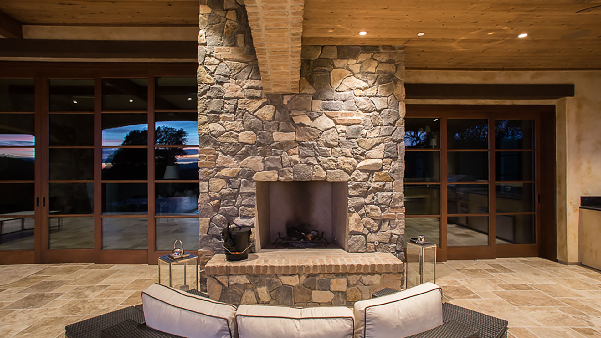MCI Masonry Fireplace Interior