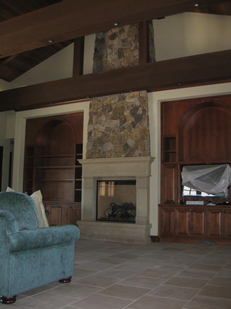 MCI Masonry Fireplace